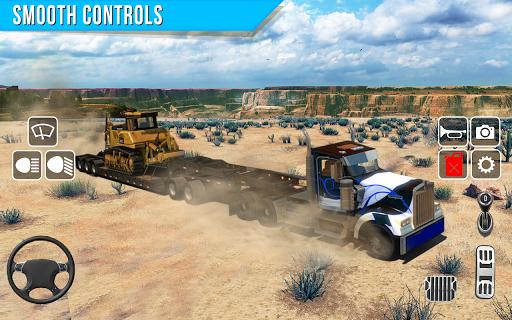 Offroad truck driver 4X4 cargo truck Drive 3D apkmr screenshots 1