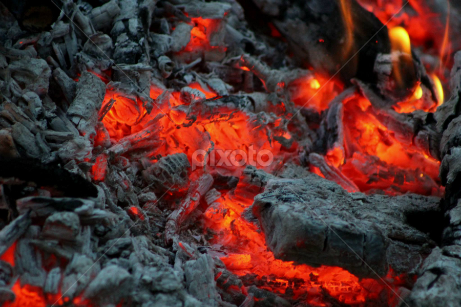 hot coals... by Susanne Carlton - Artistic Objects Other Objects (  )
