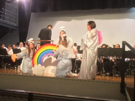 Concierto educativo de la Unión Musical Porteña y la falla Luis Cendoya de Puerto de Sagunto