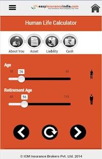 Life Insurance Calculator screenshot