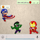 Stickers for Super Hero : Free WAStickerApps
