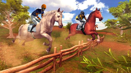 Horse Racing Endless Horse Riding Stunts 1.0.3 screenshots 8