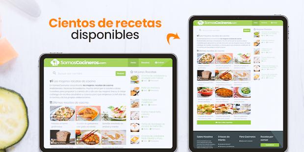 Recetas de cocina gratis - Somos Cocineros for PC-Windows 7,8,10 and Mac apk screenshot 6
