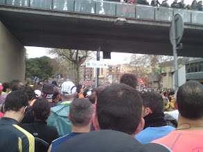 Photo: Dans les blocks, prêts à partir !