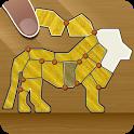 Shape Fold Animals Origami icon