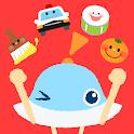 タッチ!あそベビー 赤ちゃんが喜ぶ子供向けのアプリ 知育無料 icon