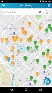 ParkiFi, Real-Time Parking App screenshot