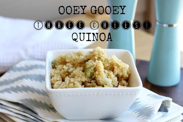 Three Cheese Creamy Quinoa Recipe