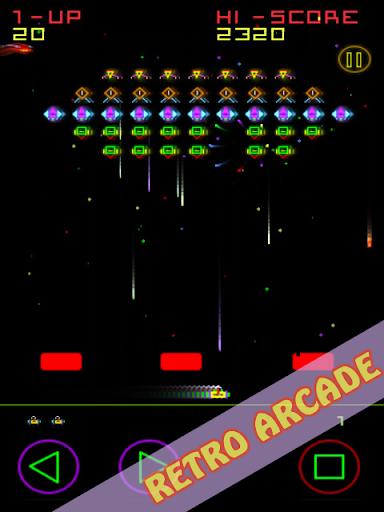 Plasma Invaders (Classic Arcade Space Game)  captures d'écran 1