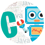 C Programming Robot Icon