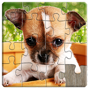 Dogs Jigsaw Puzzles Game - For Kids & Adults ?