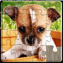Puzles de perros niños gratis icon