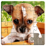 Dogs Jigsaw Puzzles Game - For Kids & Adults ? Icon