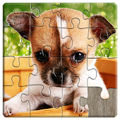 Dogs Jigsaw Puzzles Games - For Kids & Adults 🐶