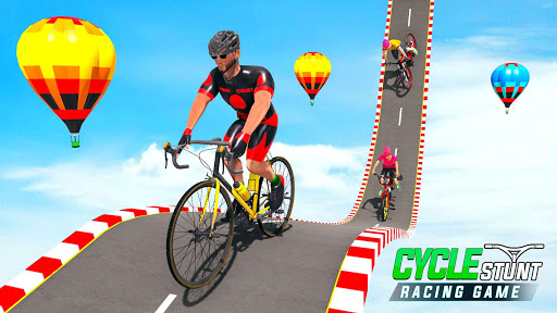 BMX Cycle Stunt Game screenshot 1
