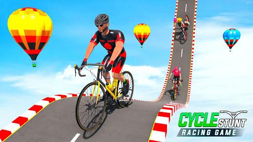 Télécharger BMX Cycle Stunt Game: Mega Ramp Bicycle Racing mod apk screenshots 1