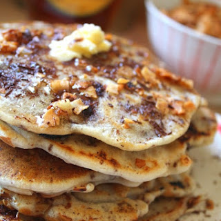 Coconut Bacon & Chocolate Chip Pancakes