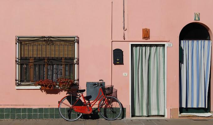 Bici davanti a casa di silvia_tamburini
