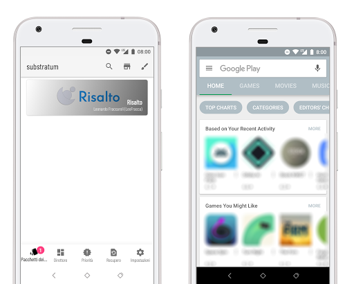 [Substratum] Risalto app for Android screenshot
