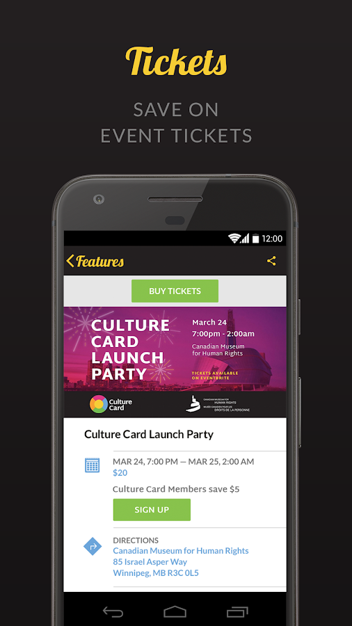 Culture Card- screenshot