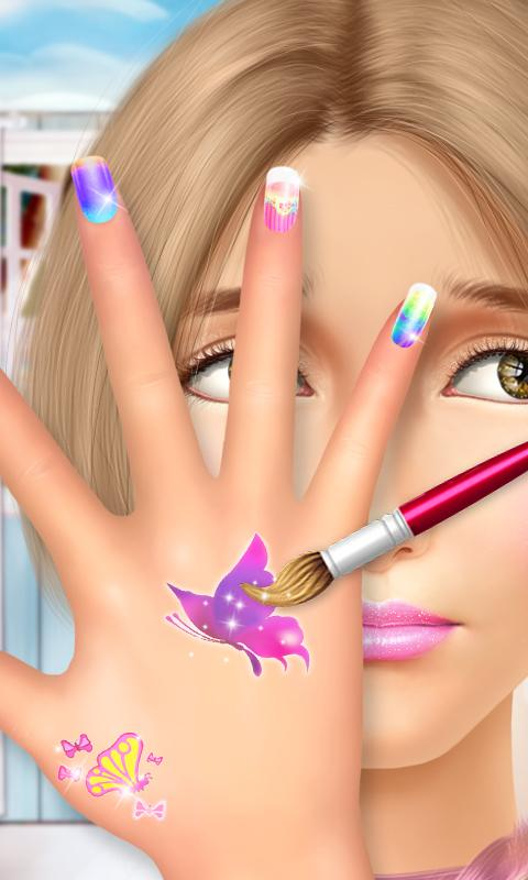 High School Beauty: Hand Salon- screenshot