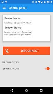 Myo EMG Visualizer screenshot 2