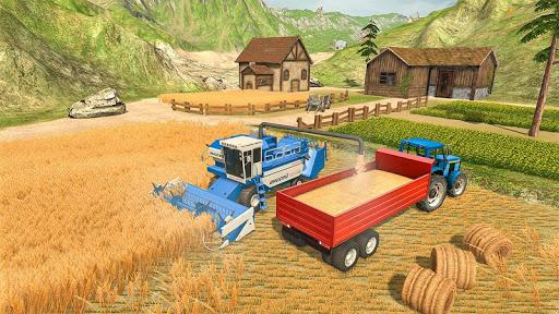 Farmland Simulator 3D: Tractor Farming Games 2020 apkpoly screenshots 1