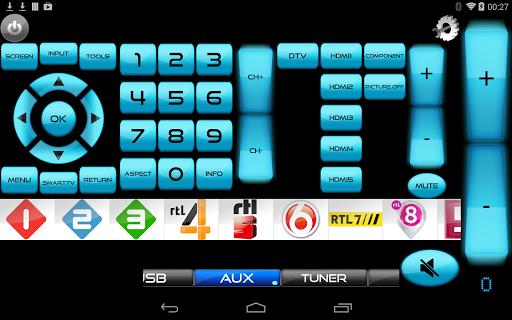 Remote for Panasonic TV+BD+AVR screenshot 5