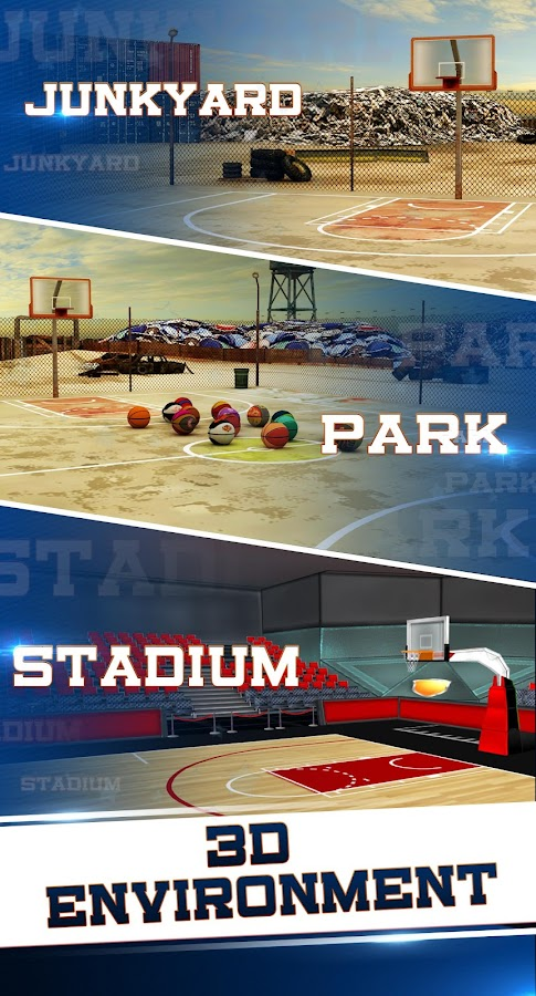 Basketball Shooting 3D- screenshot
