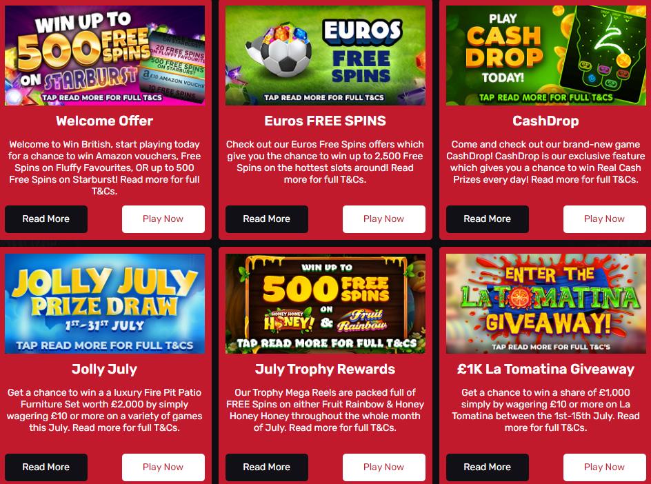 win british casino games