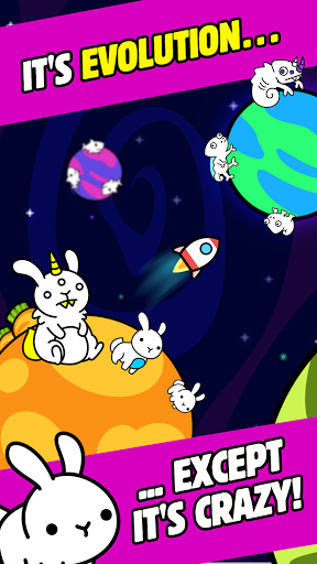 Evolution Galaxy - Mutant Creature Planets Game filehippodl screenshot 1
