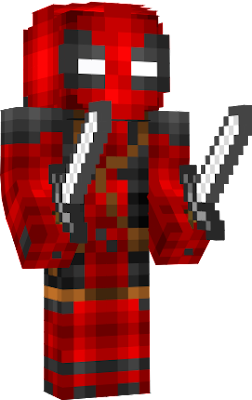Deadpool Nova Skin - Deadpool skins fur minecraft