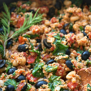 Simple Greek Couscous.