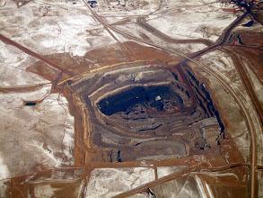 Photo: Serious mining operation