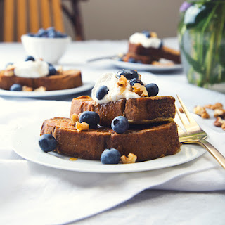 Gluten-Free & Vegan Banana Bread French Toast Recipe