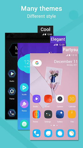 Pi Pie Launcher ud83cudfc6,PP Launcher, Android 9.0 P mode  screenshots 2
