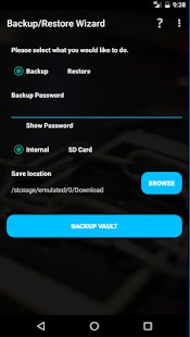 Vaultage Password Manager Screenshot