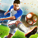 Final kick: Online football icon