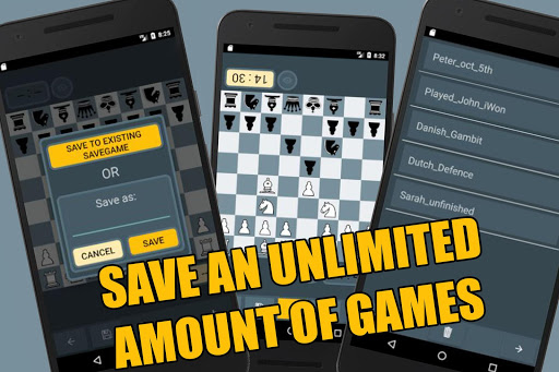 Chessboard: Offline  2-player free Chess App apktram screenshots 2