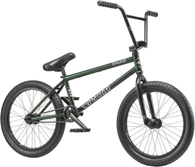 "Radio 2019 Comrad 20"" Complete BMX Bike 21"" Top Tube Green Flake alternate image 7"