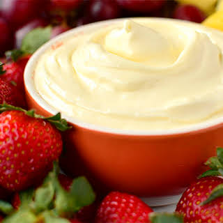 The Best Fruit Dip EVER.