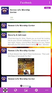 RENEW LIFE WORSHIP CENTER - náhled