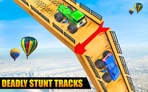 Ramp Monster Truck Stunts:New Racing Games 1.11 screenshots 16