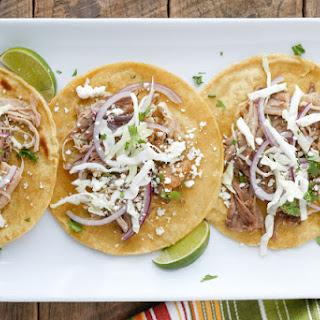 Carnitas Street Tacos.