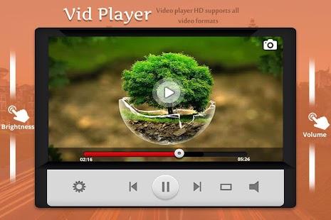 Vid Player - náhled