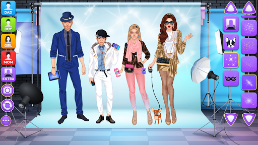 Superstar Family - Celebrity Fashion screenshots 10