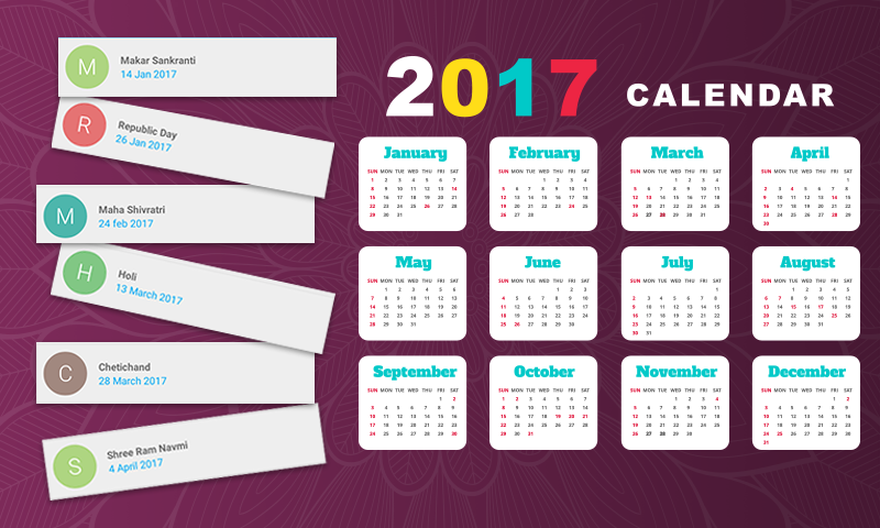Holiday Calendar Design : Indian holiday calendar android apps on google play