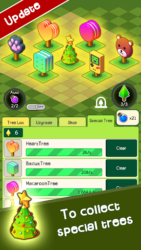 Combine Tree in forest : TreeClicker 9.6 screenshots 1