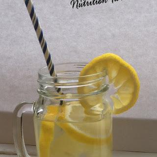 Lemon Ginger Detox Drink.
