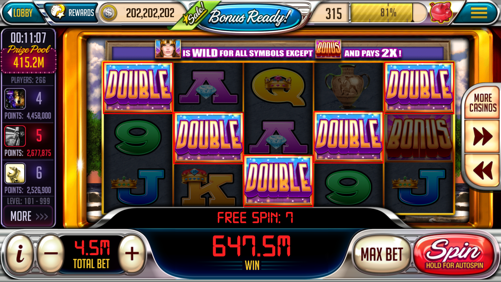 play free slot machines online ring casino